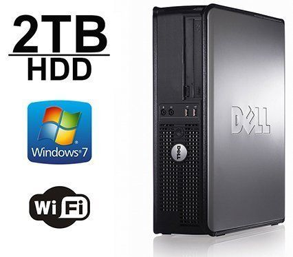 Introducing Back to School DELL Optiplex 755 Desktop Computer New 2TB HDD Core 2 Duo 266Ghz 8GB of Memory Windows 7 Pro Refurbished. Great product and follow us for more updates!