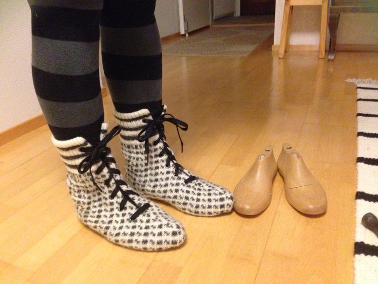 Selfmade shoes