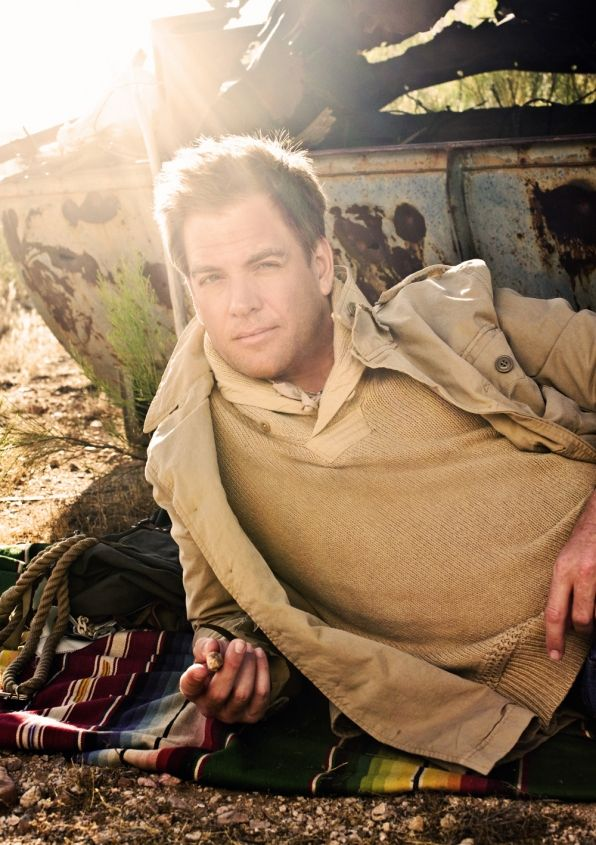 Michael Weatherly captions photos from his latest Watch! Magazine Photo Shoot.