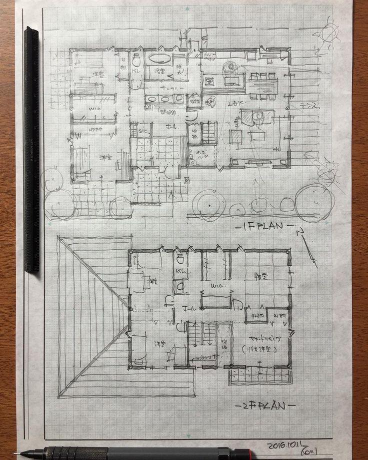 石川 元洋/一級建築士、インテリアコーディネーターさんはInstagramを利用しています:「スキップ階段のある二世帯住宅 2世帯6人のお住まい。 まだ小さいお子さんが伸び伸び楽しく成長出来るように階段下には秘密基地のスペース、階段の途中には学びのライブラリーコーナー、上がった横にはみんなで遊べるセカンドリビングを設けました。 リビングダイニングの先には広いお庭に繋が…」
