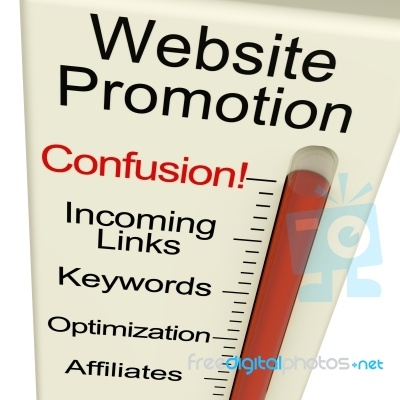 Website Promotion Confusion Meter Thanks - this is a great help!