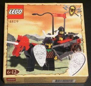 LEGO Knights' Kingdom 4819 Rebel Chariot by LEGO. $49.80