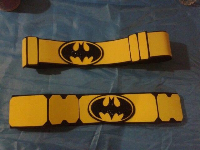 Resultado de imagen de cinturon con goma eva