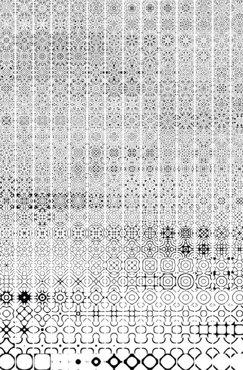Chladni plates ::Ricky Van Broekhoen Visualization of frequency patterns