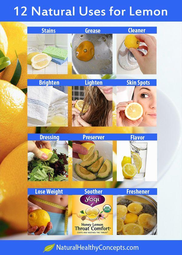 So Many Natural Uses for Lemons!