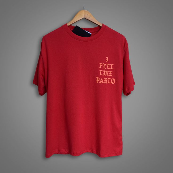 Long Tee I FEEL LIKE PABLO KANYE WEST Season 3 Summer Tee Kanye West Long Sleevev Yeezuy Mens T Shirt YEEZUS Tour HIP-HOP