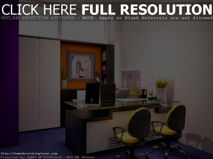 Interior Design House Schools Style With Workplace Decoration Couple Yellow Stairs And White