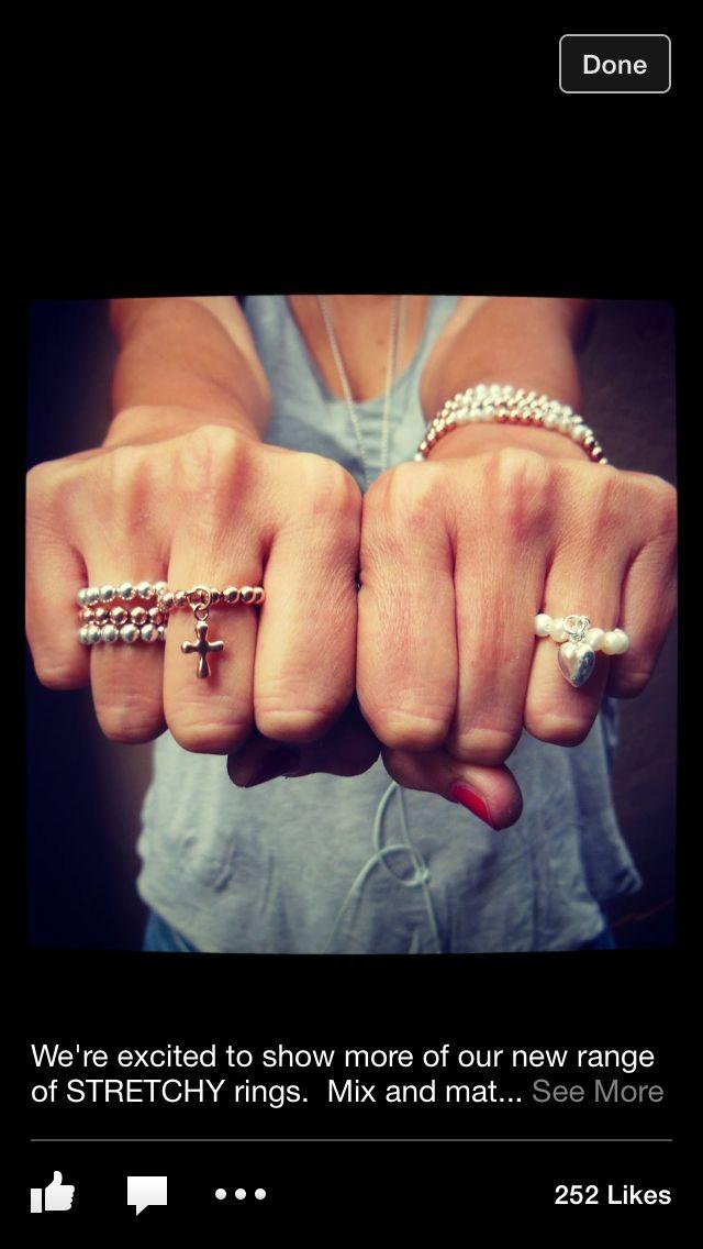 Von Treskow stretchy rings