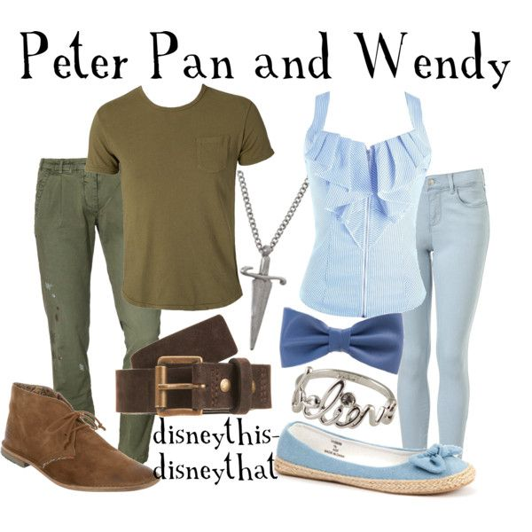 Peter Pan & Wendy, created by disneythis-disneythat on Polyvore