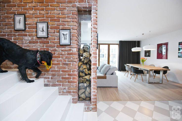 Willowa Aleja : Modernistyczny korytarz, przedpokój i schody od NA NO WO…
