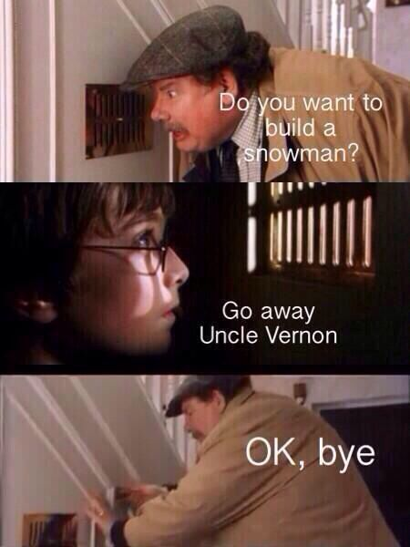 Harry Potter always wins.