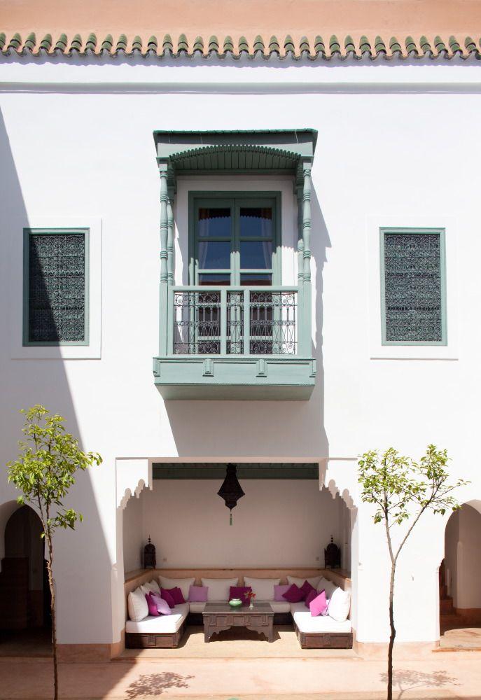 façade : bhou et balcon