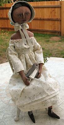 AnnieBeez  Primitive Doll
