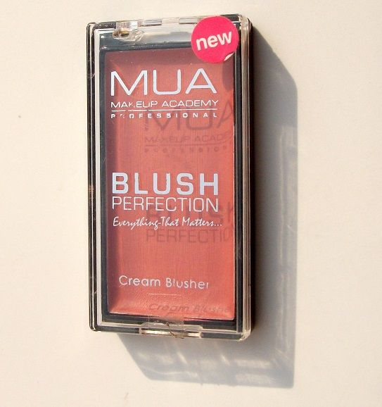 "Make Up Academy (MUA) Blush Perfection Cream Blusher ""Yummy"": Swatches & Review 