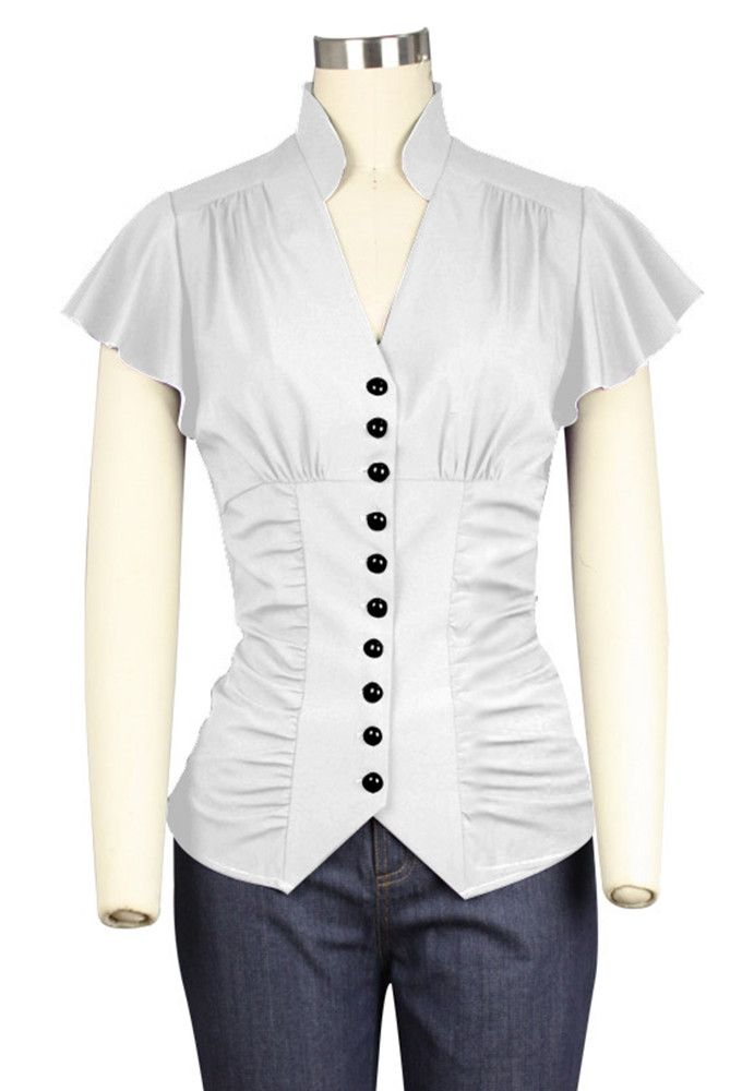 Chic Star - Blouse - White