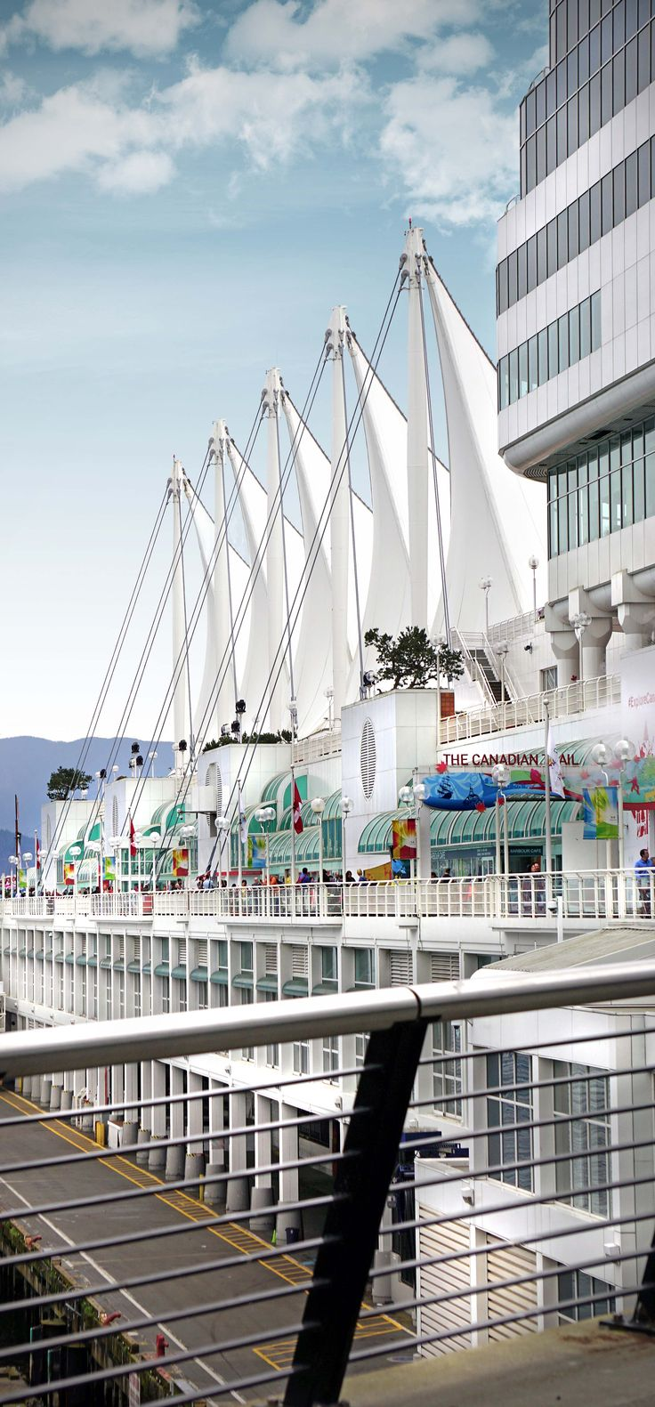 Canada Place - Located in the heart of downtown Vancouver's waterfront, Canada Place is a multi-use, world-class facility owned and operated by the Vancouver Fraser Port Authority.