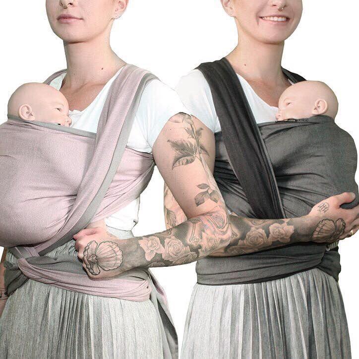 Trend Ein Tuch zwei Farben DIDYMOS doubleface auch als ringsling Hier geht us zum Shop http mamamotion de babytragen tucher html u