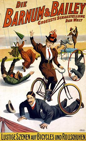 'Bicycle & Rollerskating Performers'