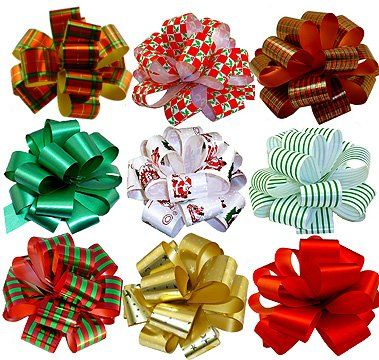 DIY Wrapping Paper Bows that are simple to make using everyday wrapping paper. Now your bows will perfectly match your packages.