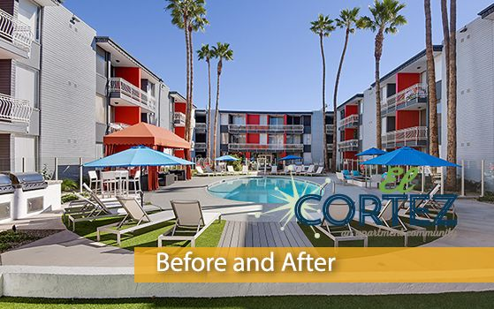 Introducing another #CommunityRedefined project, El Cortez Apartment Homes; a rebranded apartment community located in #Phoenix, AZ. Trinity Property Consultants together with Redwood Construction have completed 123 interior renovations and many exterior improvements.Take a look at the before and after pictures below to view the transformation:http://www.trinity-pm.com/Apartments/module/blog/community-redefined-el-cortez-an-apartment-community.