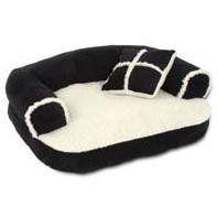 Sofa Pet Bed with Pillow
