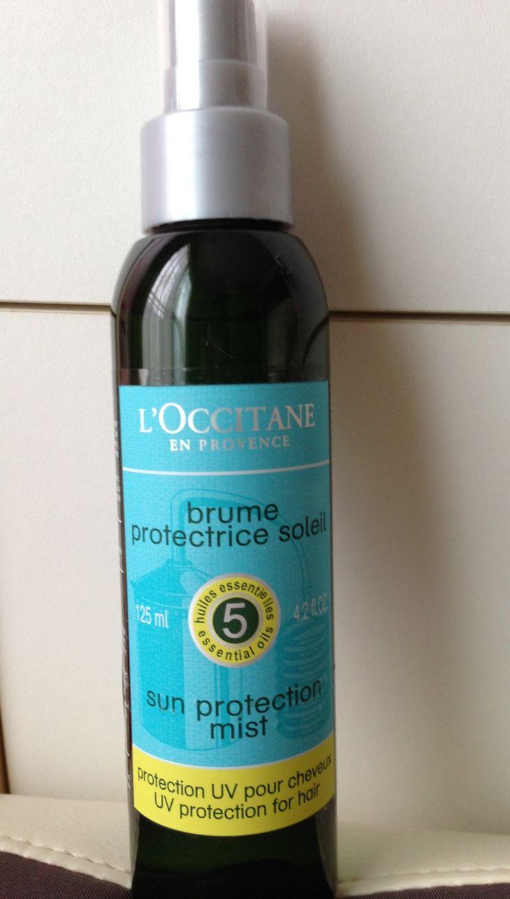 Loccitane Sun Protection Mist Uv Protection For Hair