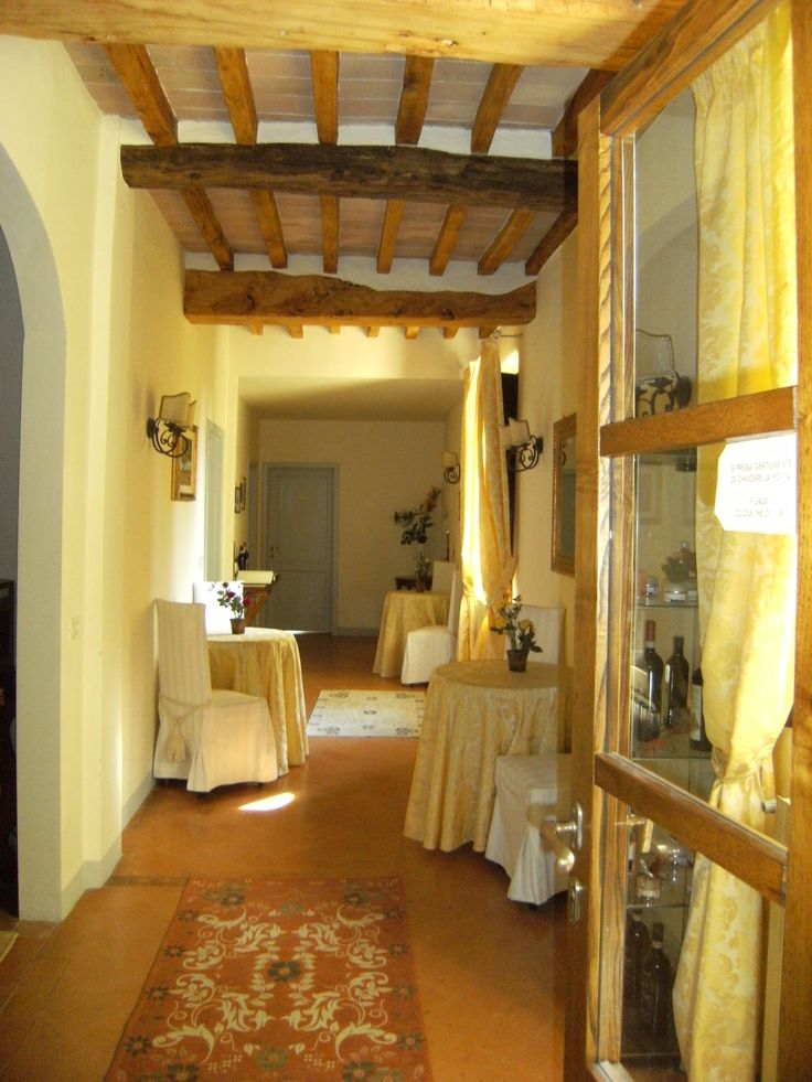 Breakfast Nooks Just Outside Your Rooms At Villa Cambi In