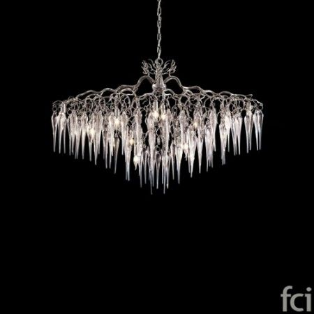 Hollywood Icicles HOCGL120N #ChandelierLamp by #BrandVanEgmond. Showroom open 7 days a week.  #fcilondon #furniture_showroom_london #furniture_stores_london #Modern_ChandelierLamp #BrandVanEgmond_furniture #BrandVanEgmond_lighting
