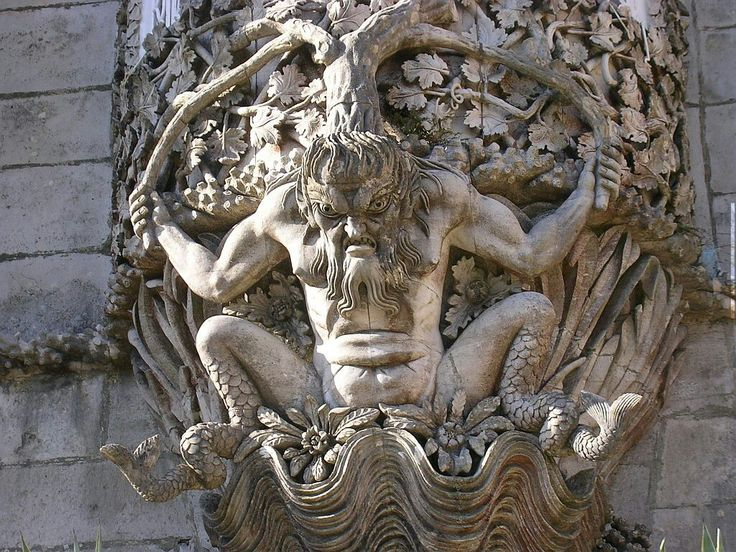 Tritão (em grego antigo: Τρίτων), na mitologia grega, é um deus marinho, filho de Posídon e Anfitrite, geralmente representado com cabeça e tronco humanos e cauda de peixe. Ele é representação masculina de uma nereida. Ele é conhecido como o rei dos mares. É um fiel servidor de seus pais, atuando como seu mensageiro e acalmando as águas do mar para que a carruagem de Poseidon deslize com segurança. Para tal ele se utiliza de búzios como instrumento, produzindo assim uma música apaziguadora.