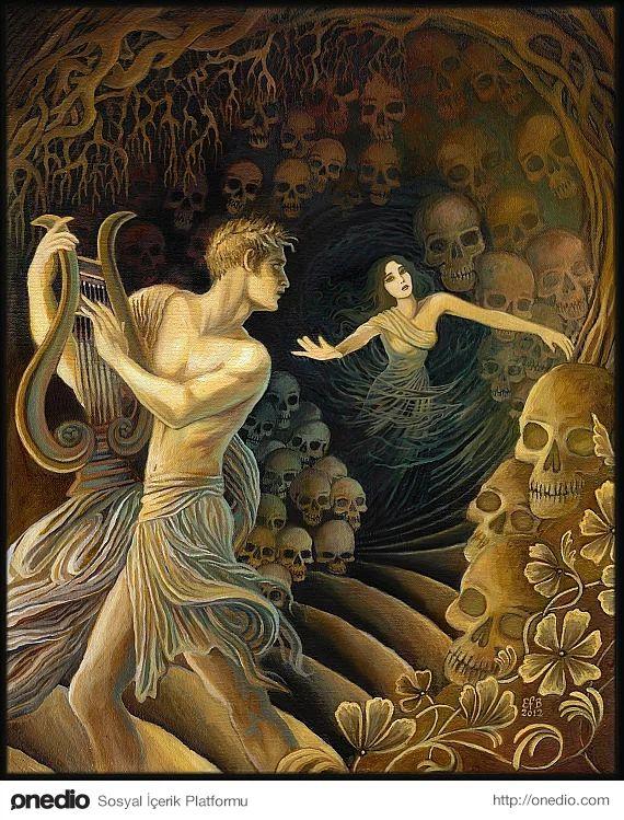 Orpheus (Yunan Mitolojisi)    Apollon'un Ouraia ile birleşmesinden, Linos ve Orpheus adlı müzisyenler dünyaya geldi.