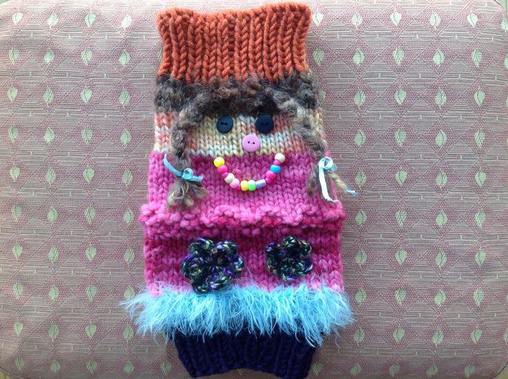 Muff Knitting Pattern : Twiddle muff