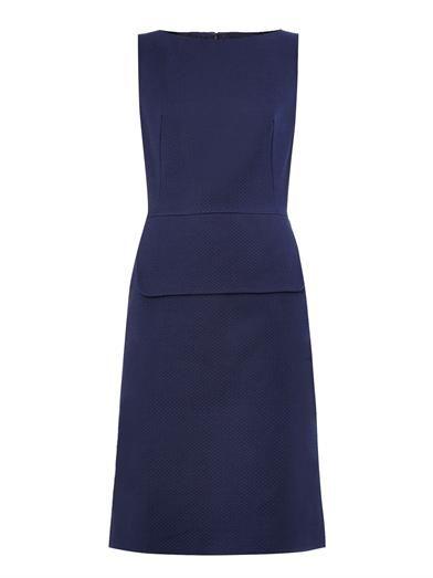 Peplum cotton-twill dress | Osman | MATCHESFASHION.COM