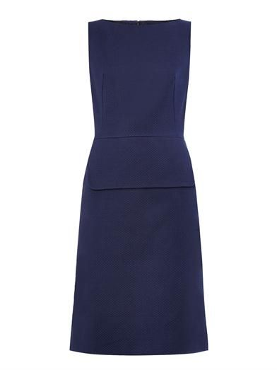 Peplum cotton-twill dress | Osman | MATCHESFASHION.COM