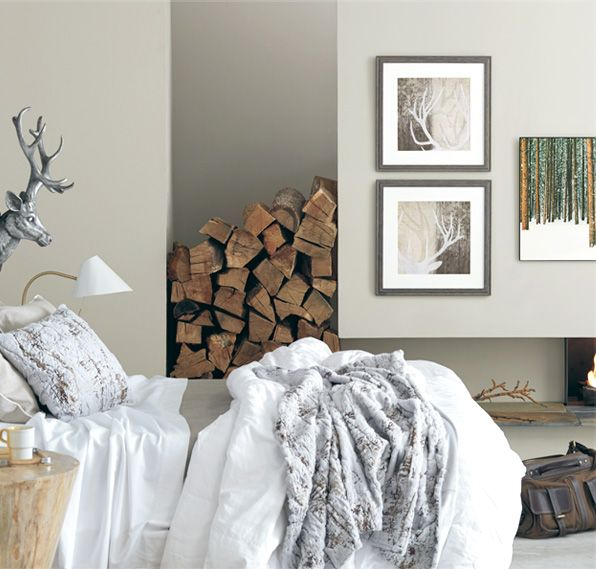 Modern Lodge - Update a rustic space, or bring warmth to modern design. Choose art that brings the outdoors in, and complement it with home accessories that reflect patterns from nature.