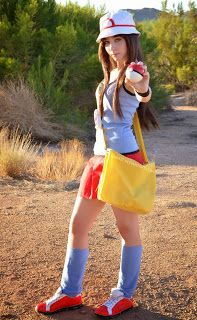 Pokemon Cosplay: Easy Pokemon Trainer Green Leaf Cosplay
