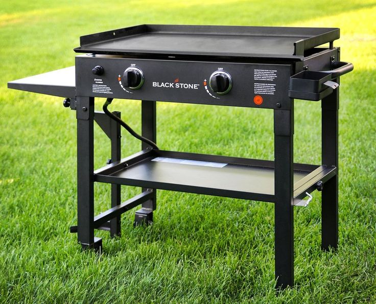 Outdoor Gas Grill BBQ Griddle Station Flat Top Propane Fueled Restaurant Grade  #GasGrillBBQGriddleStation