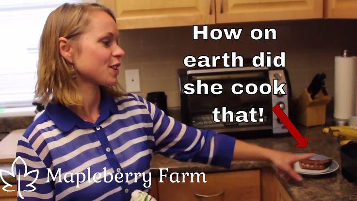 Wow! We actually eat despite no oven!