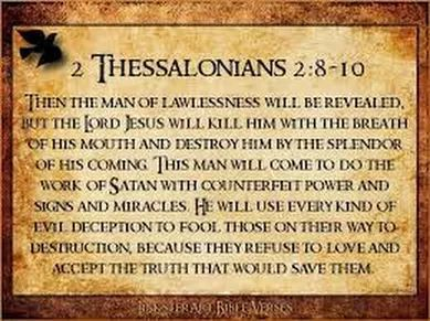 2 Thessalonians 2:8-10