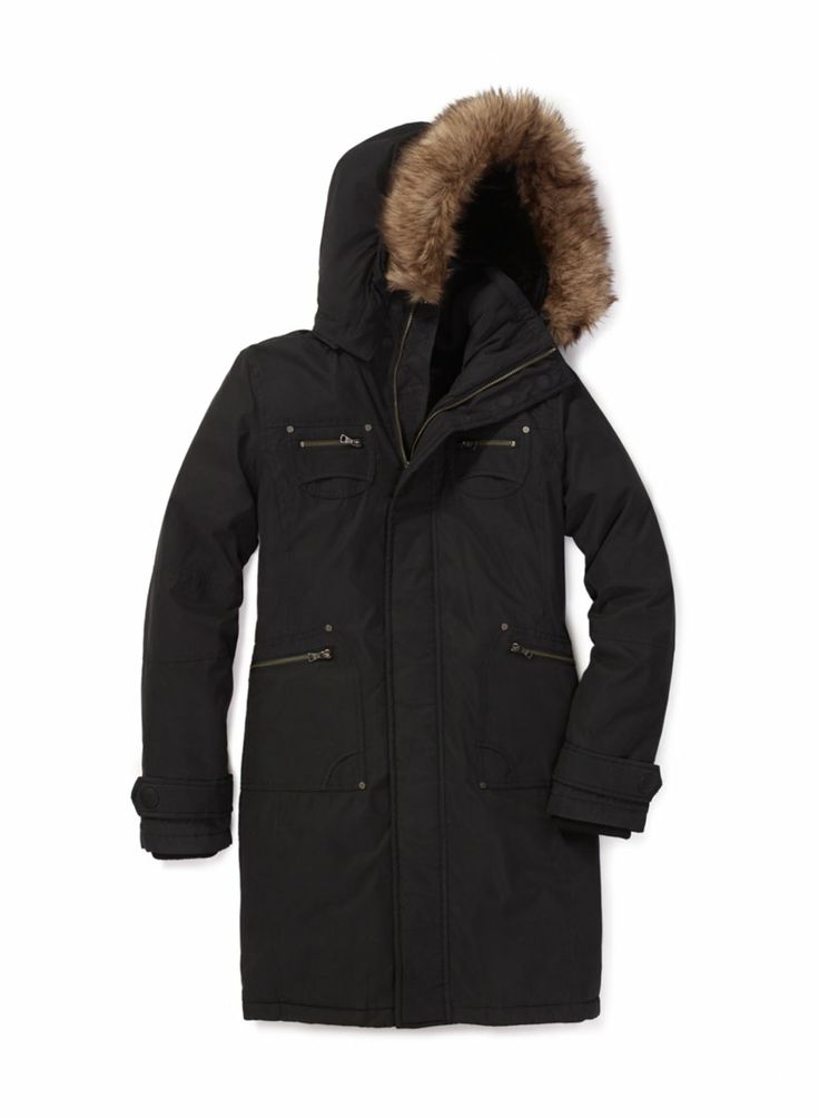 TNA VERBIER PARKA - Designed to deliver weather protection in a sleek, streamlined silhouette