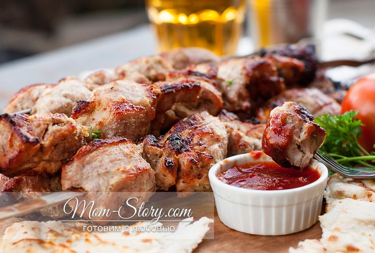 Маринад для шашлыка из свинины с кефиром | Рецепт | Идеи ...