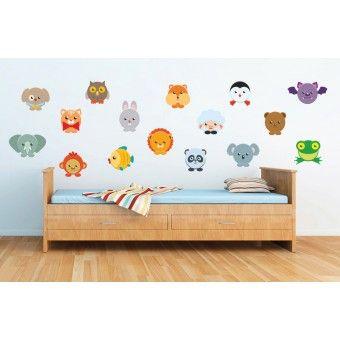 Sticker printat - Animalutze (pachet) : Stickere Colorate - ★ Stickere Decorative ★ Stickere.Net ✫ Autocolante decorative de perete ®