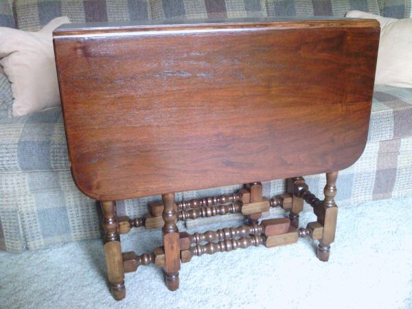 Late S Antique Drop Leaf Gate Leg Table It Was My Mothers - Antique gateleg tables