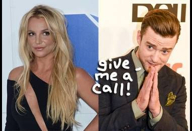Justin Timberlake Didn't Even Know Britney Spears Wanted To Duet With Him… But Now He's 'Absolutely' On Board!