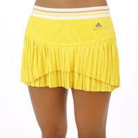 adidas Rock by Stella McCartney Barricade Skort Andrea Petkovic Women yellow