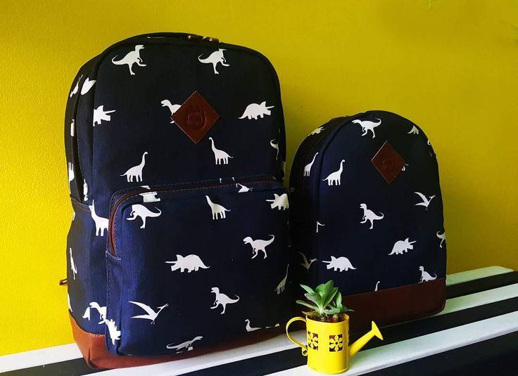 Los dinosaurios se están tomando chucherías. Cra 34 # 51 - 48 Cabecera, los esperamos. información por direct o  whatsapp 304 42 17 807 #chucheriascm #bucaramanga  #backpack #bags #bolsos #productocolombiano
