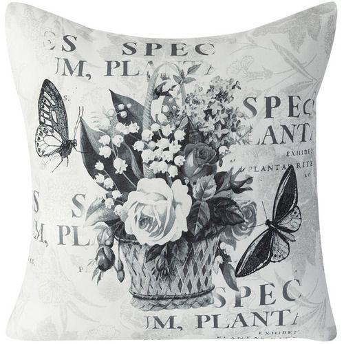 Eurofirany Poszewka Flower 33 kwiaty w koszu 45x45 Poszewka dekoarcyjna 45x45 Flower 33 kwiaty w koszu Eurofirany  jest idealnym dodatkiem, dla tych, k... - sprawdź ceny