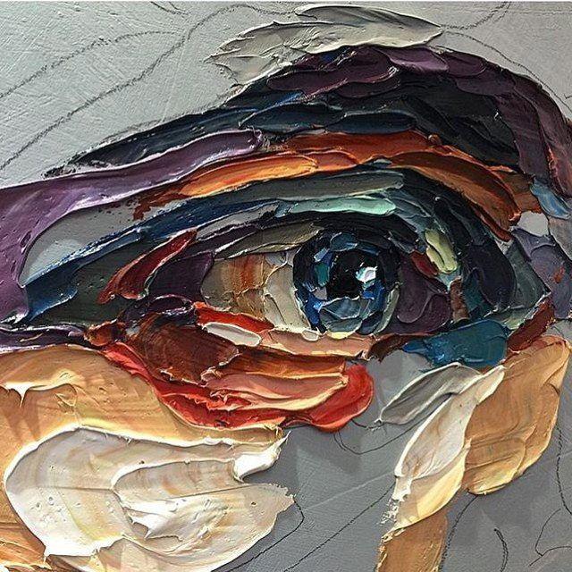 #painting by Joshua Miels  #живопись #современнаяживопись #арт #рисунок #картина #иллюстрация #художник #картинка #рисую #скетч #искусство #глаза #глаз #графика #современныйхудожник #современноеискусство #kartincamag by kartincamag