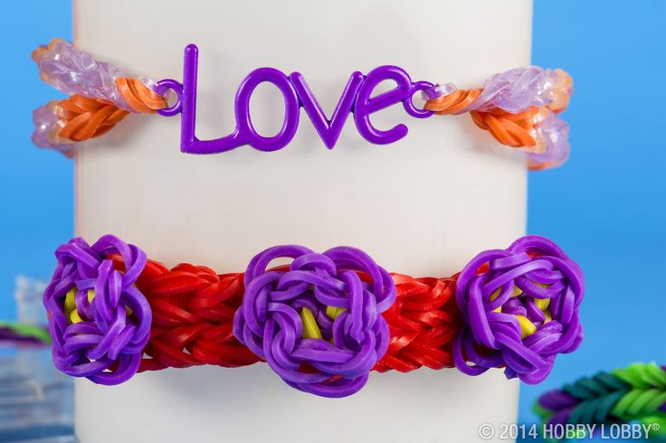 All you need is love...and some Wonder Loom bracelets of course.