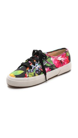 Superga Hawaiian Floral Sneakers | SHOPBOP