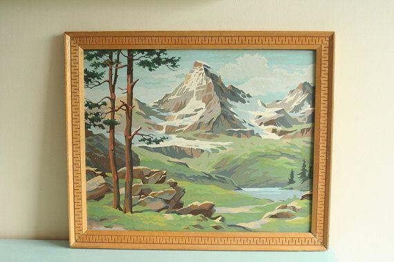 Mountain stream scene